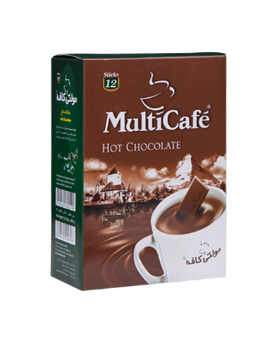 شکلات داغ بسته 12 عددی