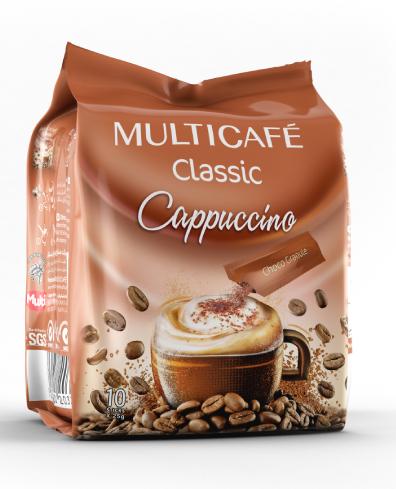 کاپوچینو بهمراه پودر مخلوط کاکائو پاکت 10 عددی