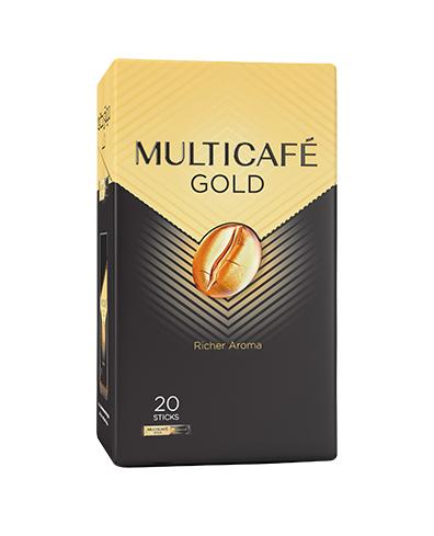 جعبه 20 عددی بسته تک نفره مولتی کافه گلد