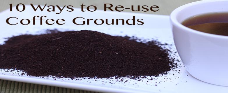 10 روش برای استفاده از تفاله قهوه